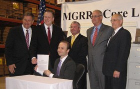 MGREE Bill Signing